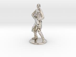 Jaffa Attack Pose - 20mm in Platinum