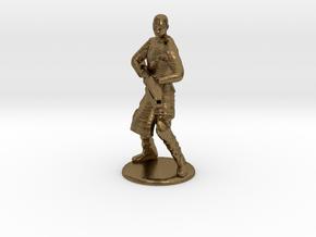 Jaffa Attack Pose - 20mm in Natural Bronze