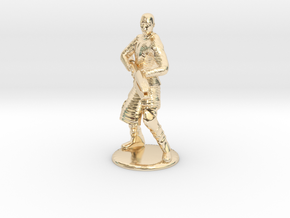 Jaffa Attack Pose - 20mm in 14K Yellow Gold