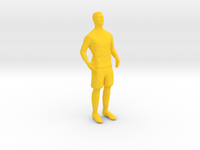 CR7 in Yellow Processed Versatile Plastic