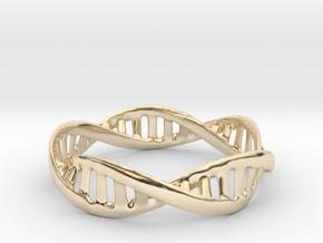 DNA Bracelet (Medium) in 14K Yellow Gold