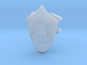 Baltard Shield - 4mm MOTU Scale in Smooth Fine Detail Plastic