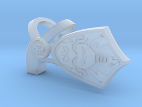 "Tiger Harness, Hammer and Shield ""C"" Parts in Smooth Fine Detail Plastic"