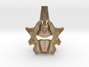 Mask Of Ultimate Power V2 - Metal Edition in Polished Gold Steel