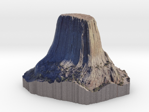 Devil's Tower in Full Color Sandstone
