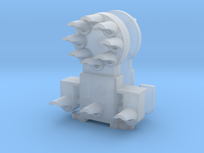 Dwarf B&O CPL-LowerSpdLamps(1) 'O'/027 - 48:1 Scal in Smooth Fine Detail Plastic