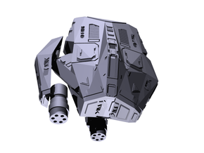 "Kushan ""Shield Mk.3b"" Defender in Frosted Ultra Detail"