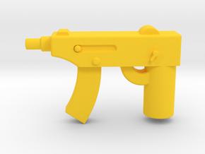 CZ 61 Skorpion in Yellow Processed Versatile Plastic