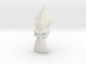 The Destiny Skull in White Natural Versatile Plastic