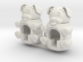 Puppy rroll in White Natural Versatile Plastic