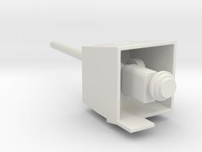 1/144 scale 6 Inch Gun Mk 18 in White Natural Versatile Plastic