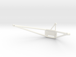 Wessex Winch Frame Electric in White Processed Versatile Plastic