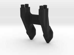 B6 Wing Mount in Black Natural Versatile Plastic