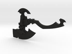 Replica Axe in Black Natural Versatile Plastic
