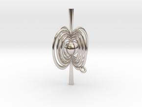Pulsar Pendant in Platinum