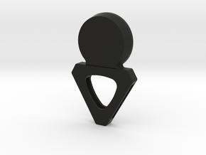 VR Headphones in Black Natural Versatile Plastic