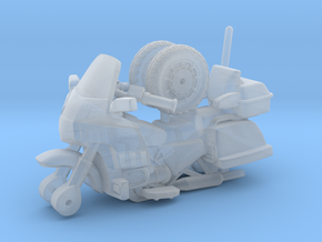 1/87 Scale Motorcycle Cruiser in Smooth Fine Detail Plastic