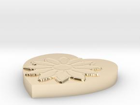 Model-8317899d96e50e1c2c87269b3ae5cff4 in 14k Gold Plated Brass