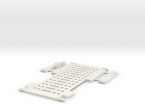 Metroplex Ramp in White Natural Versatile Plastic