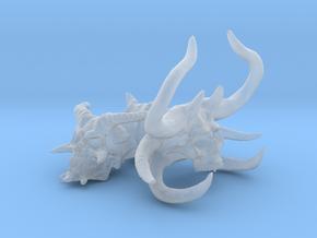 Demon Skulls Sprue: Three skulls on the sprue in Smooth Fine Detail Plastic