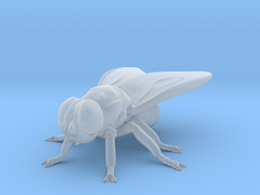 Fly small  in Smooth Fine Detail Plastic