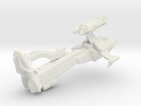 Wind Vehementa Spaceship in White Natural Versatile Plastic