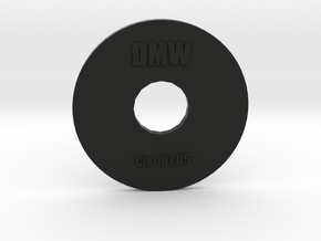 Clay Extruder Die: Circle 001 05 in Black Natural Versatile Plastic