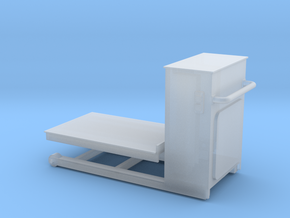Pneumatic Table Down-72 in Smooth Fine Detail Plastic