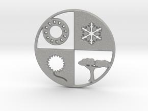 Four Seasons Pendant in Aluminum