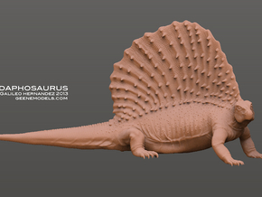 Edaphosaurus 1:20 scale in White Strong & Flexible