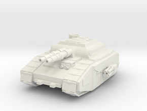 Super Heavy Tank Destroyer in White Natural Versatile Plastic