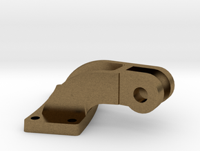 "1"" Scale smoke box door hinge in Natural Bronze"
