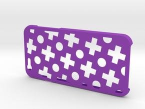 Plus case for iPhone 6 in Purple Processed Versatile Plastic