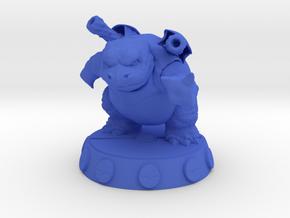 Blastoise Pokemon in Blue Processed Versatile Plastic