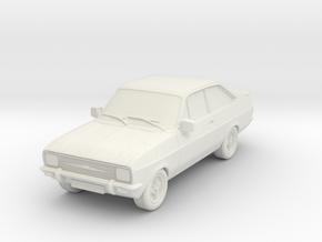 1:87 escort mk 2 2 door rs square headlights hollo in White Natural Versatile Plastic