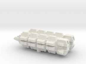 Rochen Transport x2 (1/5000) in White Natural Versatile Plastic