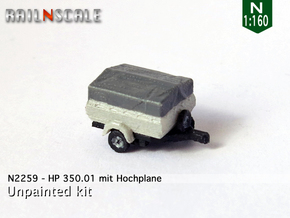 HP 350.01 mit Hochplane (N 1:160) in Smooth Fine Detail Plastic