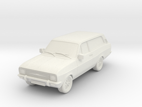 1:87 Escort mk 2 2 door estate hollow in White Strong & Flexible