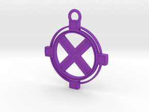 Zaros Pendant in Purple Processed Versatile Plastic