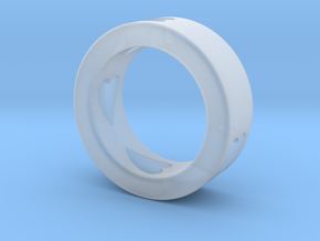 LOVE RING Size-7 in Smooth Fine Detail Plastic