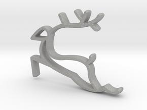 Reindeer Necklace  in Aluminum