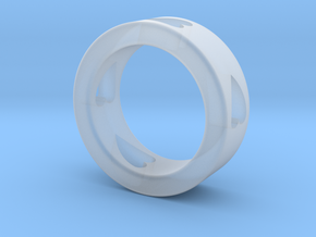 LOVE RING Size-8 in Smooth Fine Detail Plastic