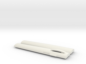 POCKET SYRINGE CASE in White Natural Versatile Plastic