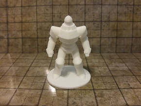 Iron Golem in White Natural Versatile Plastic