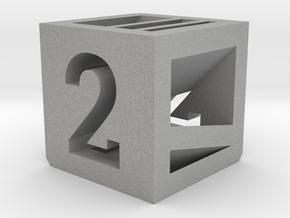 Photogrammatic Target Cube 2 in Aluminum