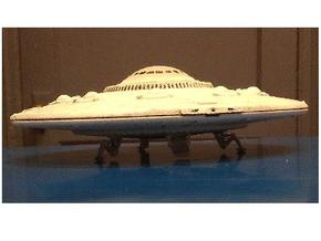 "5"" dia. Scout Ship UFO, Flying Saucer Kit-November in White Natural Versatile Plastic"