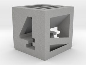 Photogrammatic Target Cube 4 in Aluminum