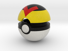 Pokeball (Level) in Full Color Sandstone