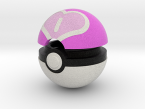 Pokeball (Love) in Full Color Sandstone
