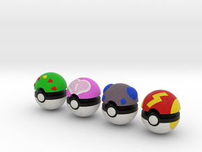 Pokeballs (Set 03) in Full Color Sandstone
